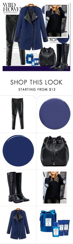"""Romwe IX/10."" by adanes ❤ liked on Polyvore featuring Smith & Cult, RGB Cosmetics, Black Rivet, Acqua di Parma, romwe and polyvoreeditorial"