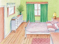 Escolha a cor ideal para seu quarto e durma melhor!
