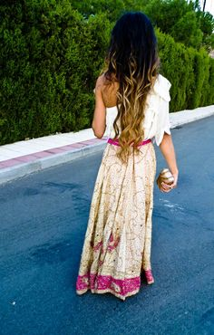 love her ombre highlights.. my hair lady want to do this to my hair :D