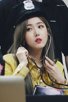 Photo album containing 28 pictures of SinB Sinb Gfriend, Fan Picture, G Friend, Korean Girl Groups, Kpop Girls, My Girl, Hoop Earrings, Jewelry, Nayeon