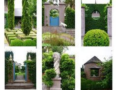 Formal Gardens from the Land Down Under, Australia by Carolyn Roehm Feburary 2016