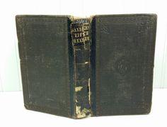 The School Reader Fifth Book, 1869 Sanders' New Series School Reading Textbook by naturegirl22 on Etsy