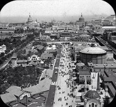 Columbian Exposition, Chicago 1893, Ferris Wheel Looking East