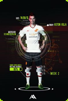 Match poster: Aston Villa vs Manchester United