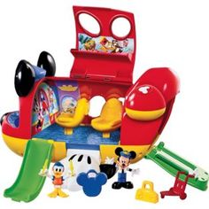 BARGAIN Fisher-Price Mickey Mouse Clubhouse Mickey's Jet was £26.39 NOW £13.99 at Argos - Gratisfaction UK Mickey Mouse Clubhouse Toys, Mickey Mouse Toys, Fiesta Mickey Mouse, Jouets Fisher Price, Fisher Price Toys, Disney Toys, Disney Mickey, Toys For Boys, Kids Toys
