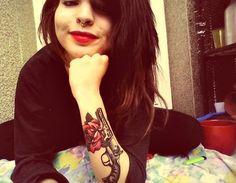 gun tattoo!
