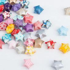 Adeline Klam - Guirlande d'étoiles en origami