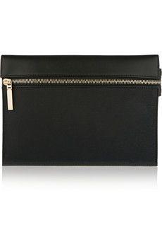 Victoria Beckham Leather clutch | CATWALK CULTURE