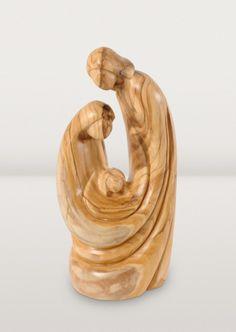Mosleh Workshop, West Bank - Holy Family Sculpture.
