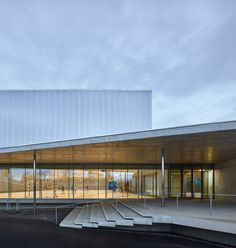 Sports centre in Strasbourg | Dominique Coulon & associés | Archinect