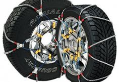 Security Chain Company Super Cable Tire Chain for Passenger Cars, Pickups, and SUVs - Set of 2 - Automotive Parts and Accessories Snow Chains, Winter Tyres, Truck Tyres, Best Tyres, Car Accessories, Winter Accessories, Adidas, Stuff To Buy, Cable