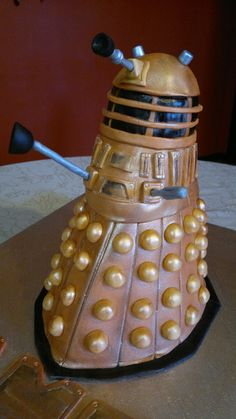 Dalek cake for a Dr Who party