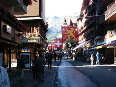 So charming. Such wonderful memories. Everyone should see the Matterhorn from the village of Zermatt, Switzerland.