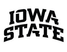 Iowa State pumpkin stencil