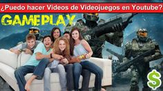 ¿Puedo hacer Videos de Videojuegos en Youtube? Gameplay Music, Movies, Movie Posters, Earn Money Online, Musica, Musik, Film Poster, Films, Popcorn Posters
