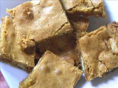 Paula Deen s Brown Sugar Chewies from Food.com:   This is a great bar cookie. I got rave reviews when I recently made them.