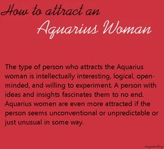 What attracts a scorpio man to an aquarius woman