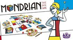 Juegos de mesa basados en la Historia del Arte   Educación 3.0 Piet Mondrian, Picasso, Games, Game Cards, Colour Chart, Paint Colors, Stones And Crystals, Board Games, Cubism