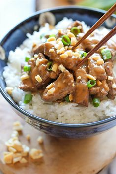 Thai Peanut Beef - Damn Delicious. I made this with pork and it was delicious!!! I'll make this again for sure.