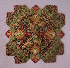 Patchwork of the Crosses Quilt Block  Lucy Boston