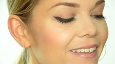 Winged eyeliner for hooded eyes - THIS is the first tutorial I have seen that really works for hooded eyes