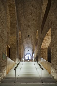 Biblioteca 'Dipòsit de les Aigües' by Lluís Clotet & Ignacio Paricio / Barcelona, Spain