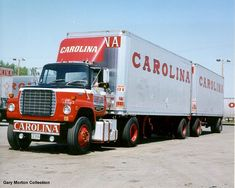 Big Ford Trucks, Mack Trucks, Semi Trucks, Gaston County, Freight Truck, Road Train, North Carolina, Vehicles, Trailers