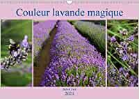 Couleur lavande magique (Calendrier mural 2021 DIN A3 horizontal): Vegetables, Plants, England, Products, Monthly Calender, Lavender Color, Book Binding, Magic, Spirals
