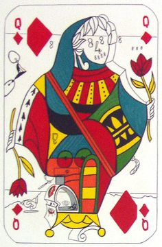 Salvador Dali, Queen of Diamonds