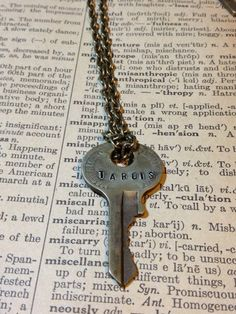 Steampunk+Doctor+Who+Inspired+Tardis+Key+Necklace+by+morbidxtasy,+$13.00