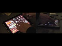 KORG iELECTRIBE for iPad: Performing with a Pattern Set