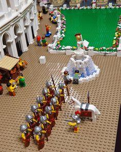 Architect Builds World's First LEGO Colosseum - DesignTAXI.com
