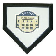 New York Yankees Authentic Hollywood Pocket Home Plate - Yankee Stadium Final Season Logo