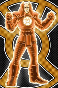 Orange Lantern (Lex Luthor) by Terry Huddleston Green Lantern Sinestro, Orange Lanterns, Teen Titans Starfire, Comic Villains, Green Lantern Corps, Arch Enemy, Lex Luthor, Story Arc, Man Of Steel