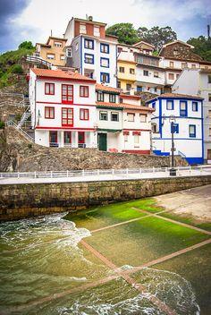 Cudillero, Asturias in Spain - Europe travel tips Places In Spain, Places To See, Aragon, Europe Travel Tips, Spain Travel, Camping San Sebastian, Asturias Spain, Spain And Portugal, Travel Around