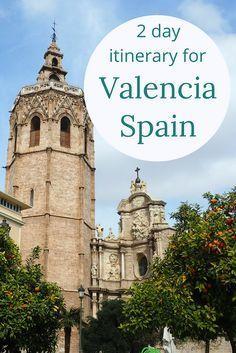 2 day itinerary for Valencia, Spain  #travel #travelling #destinations #travelblogger #travelstories #travelinspiration #besttravel #tourism #travelwriter #travelblog #traveldeeper #traveltheworld #Europe #EuropeTravel   http://adventuresoflilnicki.com/