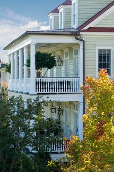 Porches of Daniel Island, Charleston, SC... so love all the islands around Charleston.