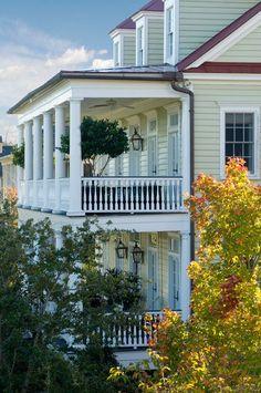 Porches of Daniel Island, Charleston, SC... so love all the islands around Charleston.