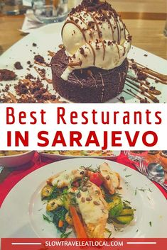 Bosnia's capital is also the culinary center of the country. From fusion to authentic Bosnian dishes, here's n guide to the best restaurants in Sarajevo! Sarajevo Bosnia, Smoked Cheese, Restaurant Guide, Food Tasting, Good Burger, Best Dishes, Different Recipes, Foodie Travel, Street Food