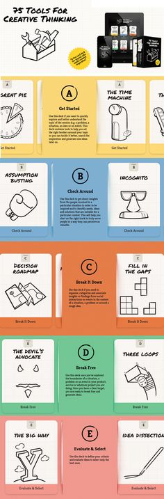 75 tools for creative thinking http://75toolsforcreativethinking.com/ #albertobokos