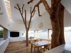 Garden Tree House, by Hironaka Ogawa