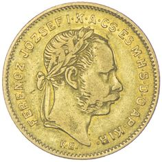 4 FORINT 1870 KB Kaiserreich Franz Joseph I. 1848 - 1916
