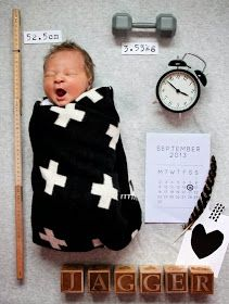 The cutest birth announcement EVER:D
