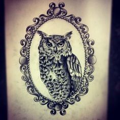 Cameo Owl by Ancora-Kimberley.deviantart.com on @deviantART