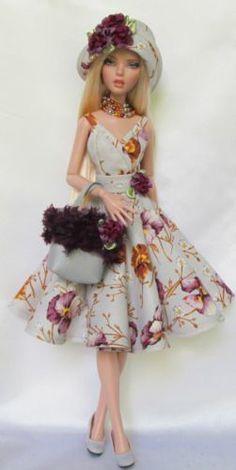 Penelope 039 s Floral Femme Delight for 16 034 Tonner Deja Vu Made by Ssdesigns | eBay