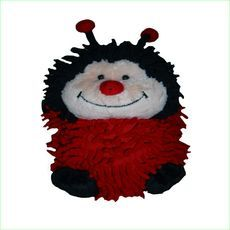 Ladybug Round Animal Soft Toy - Green Ant Toys http://www.greenanttoys.com.au/shop-online/soft-and-plush-toys/round-animals/ladybug-round-animal/