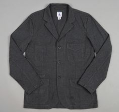 "ARPENTEUR: ""VILLEFRANCHE"" JACKET, GREY CROISE TWILL :: HICKOREE'S"