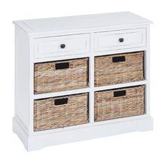 Woodland Imports Woodland Imports Basket Cabinet $250