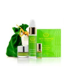 Pure & Powerful: Natural Skincare Travel Set for Problematic Skin from Tata Harper Skincare
