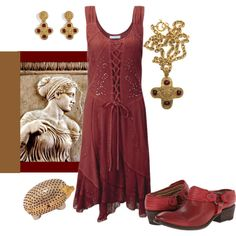 Athens by rellenj on Polyvore featuring Frye, Judith Leiber, WGACA and Chanel